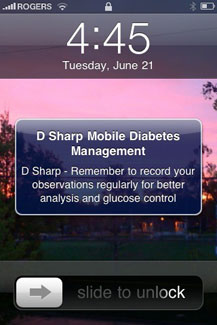 An appointment with your doctor and D Sharp