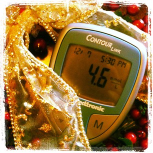 Happy Holidays from your glucometer